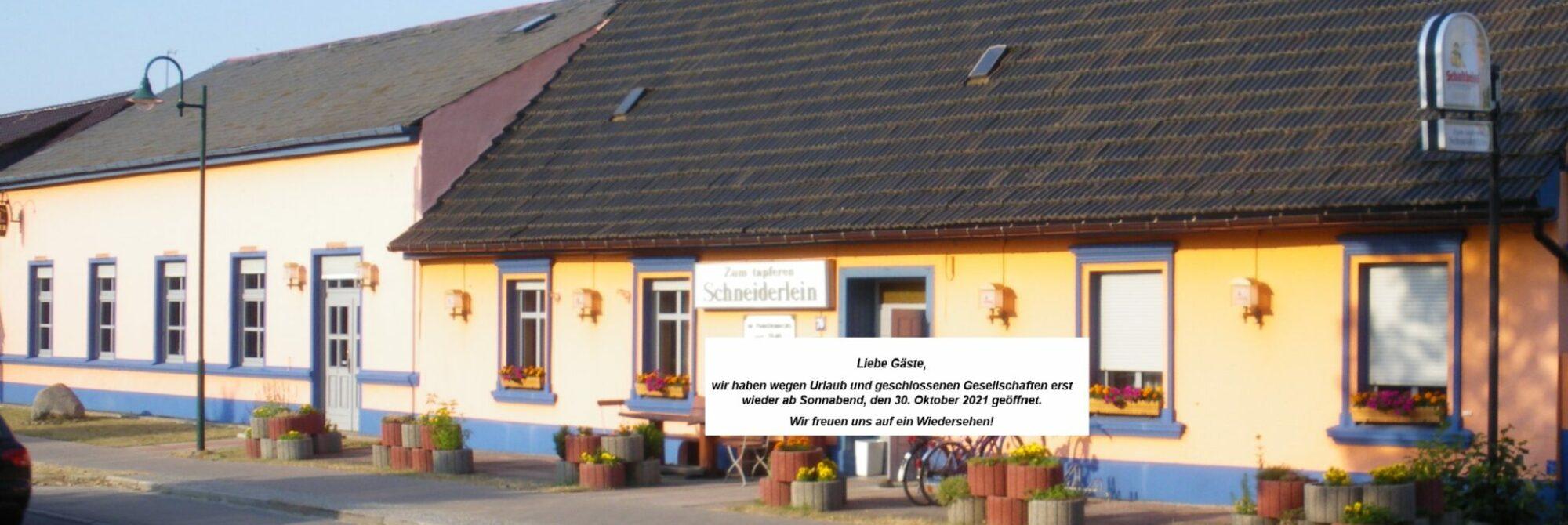 """Gasthof """"Zum tapferen Schneiderlein"""""""